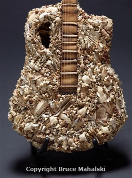 Bone Guitar(Detail) 2015
