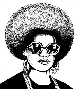 Kathleen Cleaver (Black Panther Leader)