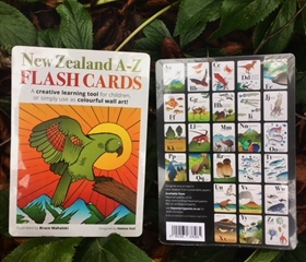 A-Z of New Zealand Animals and Plants (Flashcards)
